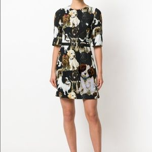 332a35af39 Dolce   Gabbana Dresses - NWT Dolce   Gabbana Dog Printed Silk Dress